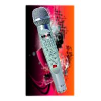 China 2014 gangnam style new fashion handle karaoke singing machine support 2G/4G/16G/32G SD Card on sale