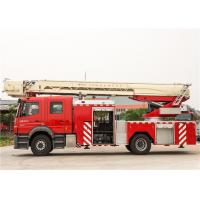 Buy cheap Ultrasonic Sensor Remote Control Ladder Fire Truck Running Speed 90KM/H product