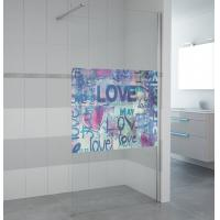 Buy cheap NEW product walk in shower bath screen 6817 product