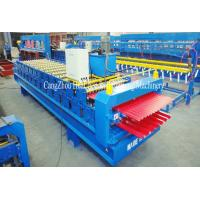 Buy cheap Durable Double Layer Roll Forming Machine Mitsubishi / Siemens Control System product