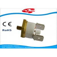 Buy cheap Manual Reset Snap Disc Thermostat , Thermal Switch Thermostat  T24-RL2-CB product