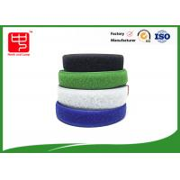 Buy cheap Two sided hook and loop sew on hook and loop tape various color 25m / roll product
