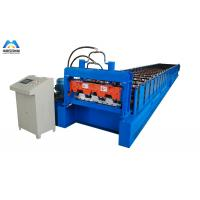 Buy cheap Galvanized Metal Deck Roll Forming Machine Mexico Style 1219mm Material Width product