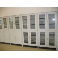 Buy cheap Durable And Modern Chemical Storage Cabinet Two Glass Door Steel Material product