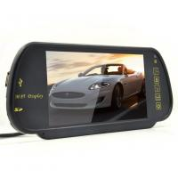 Buy cheap 7 Inch TFT Rear View Mirror Screen , Car Reverse Camera Contrast Ratio 350 / 1 from wholesalers