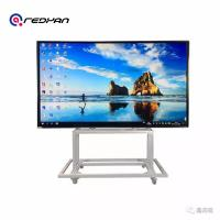 Buy cheap Nano Touch Moving Teaching Intelligent Whiteboard With Windows And Android Double Os product