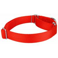 Buy cheap 2 Layers Soft Nylon Dog Collar Comfortable Martingale Loop For Dog Walking product