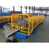 Quality 10 - 15 M/Min Gutter Roll Forming Machine K Style O Gee Profile Producing Use for sale