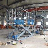 Buy cheap Easy Operation Vehicle Scissor Lift Car Lifts For Home Garage Multi Color product