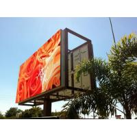 Buy cheap Steel / Iron Material Outdoor Advertising LED Display Billboard 1R1G1B With Back Access product