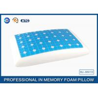 Buy cheap Reversible Ventilated Cooling Gel Memory Foam Pillow With Air Holes 60X40CM Size product