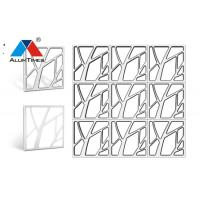 Buy cheap Sound Dampening Clip In Metal Ceiling Tiles Square Shape For Office Building product
