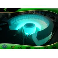 Buy cheap Customized LED Inflatable Furniture PVC Sofa / Inflatable Sofa With Table product