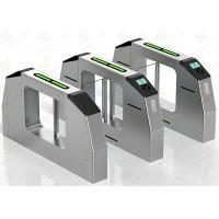 Buy cheap Electronic Full Automatic Swing Barrier Gate Shock Proof for Metro Turnstile product