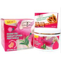 China Naturally herbal green tee breast enhancement creams with papaya breast enhancement soap on sale