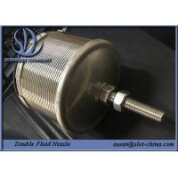 Buy cheap Double Fluid Nozzle For Water Processing And Water Cleaning product