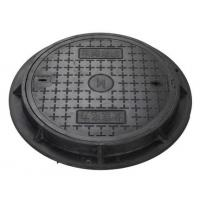 Buy cheap Round, 850mm, Cast iron manhole cover product