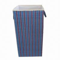 Buy cheap Foldable large storage box with ears, comes in various colors, used for sundries product