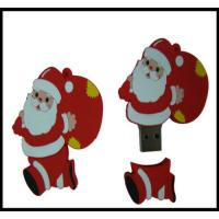 Buy cheap Christmas Gift!!! OEM Santa Claus Pvc usb flash drive, usb flash memory, usb from wholesalers