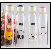 Buy cheap Promotional Christmas Gift glass water bottle with any simple elegant logo and color product
