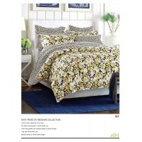 Buy cheap Plain Dyed Microfiber Polyester Bed Set 100 Polyester Sheets Set / Quilt Cover Set product