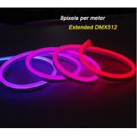 Buy cheap IP68 DMX512 Outdoor Flexible LED Strip Lights / RGB Neon Digital Led Light from wholesalers