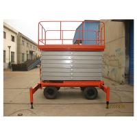 Buy cheap Anti - Skid 8M Self Propelled Scissor Lift 2.45 * 1.35m Platform Size For Airport product
