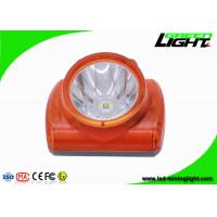 Buy cheap Explosion Proof Miners Lights For Hard Hats , Lightweight Led Miners Cap Lamp 13000 Lux product