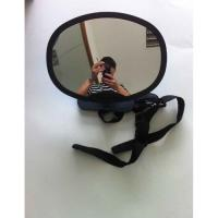 Oval large size shatterproof  25.8*18.5cm Back view mirror for baby safety convex mirror