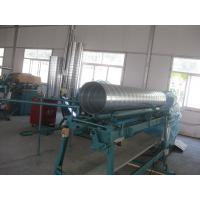 China Industrial Spiral Tube making machine With Galvanized Steel , Aluminum Duct Forming F1600 on sale