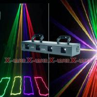 China four head yellow+green+rose+violet laser light on sale