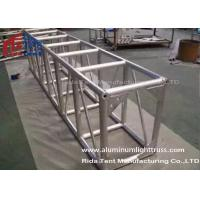 Buy cheap Light Weight Aluminum Stage Truss , Square Lighting Truss Bar For Rental Event product