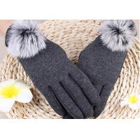 Buy cheap Winter Women'S Gloves With Touch Screen Fingertips , Soft Gloves For Cell Phone Use  product