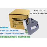 Buy cheap Professional Printer Ribbon Thermal Transfer Customized 100m Length Black from wholesalers
