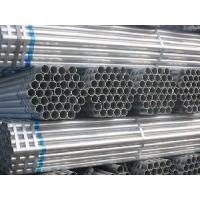 Buy cheap Bs 1387/En39/En10219 ERW Hot DIP Galvanized Scaffolding Carbon Welded Steel Pipe product
