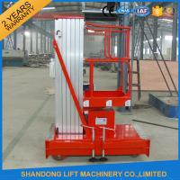 Buy cheap Mobile Hydraulic Aerial Work Platform Lift With High Strength Aluminum Alloy Material product