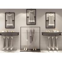 Buy cheap OEM And ODM Service Clothing Display Rack / Clothing Wall Display from wholesalers