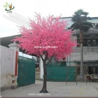Buy cheap UVG CHR117 buy cherry blossom tree with artificial flowers from china manufactory 6m tall product
