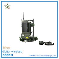 Buy cheap Non line of sight wireless COFDM mobile video transmitter from wholesalers