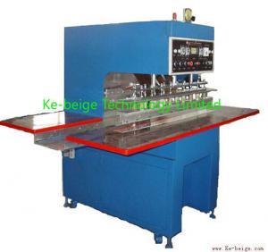 China Automatic Plastic Tarpaulin Welding Machine 10kw For Awning / Film Fabric Welding on sale