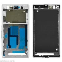 Buy cheap Front Frame Cover Housing for Sony Xperia Z1, L39, C6902, C6903, C6943 White product