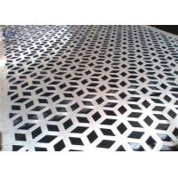 Buy cheap Decorative Perforated Metal Mesh Screen Plain Weave 1.22x2.44m Size product