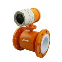 High quality Compact Type Electromagnetic Flow Meter to highest 15m/s flow rate