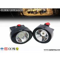 Buy cheap GL2.5-C Safety LED Mining Cap Lights 2.8AH 6000 Lux 230mA Cordless Style IP67 product