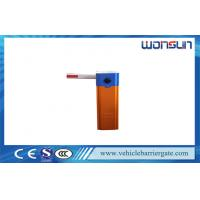 Buy cheap AC220V Automatic Barrier Gate for Car Parking system / Residential Boom Barrier product