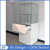 Buy cheap Popular 2 Layers Glass Jewellery Display Cabinets With Free 3D Design Service from wholesalers