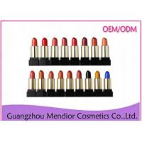Buy cheap Paraben Free Natural Makeup Lipstick Without Red DyeRaw Materials Glossy product