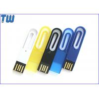 Buy cheap Promotional Gift Stylish Paper Clip 16GB USB Memory Stick Pendrives from wholesalers