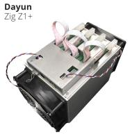 Buy cheap Lyra2Rev2 Algorithm 7.25G/S 1200W DAYUN Z1+ Zig Z1+ Miner Asic Mining Machine product