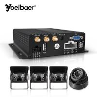 Buy cheap 1080P AHD Mobile DVR System Real Time G Sensor 3G 4G SD Mini Car Security CMSV6 product